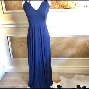 Lulu's blue maxi dress. Size S